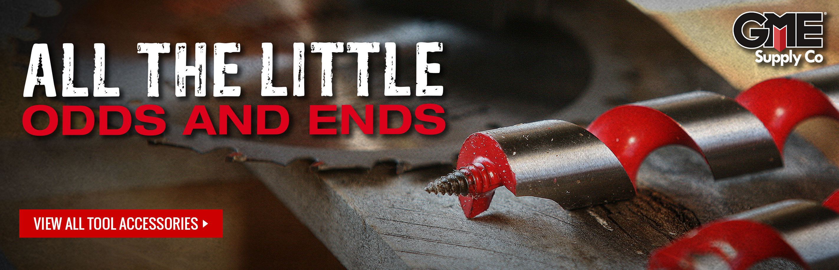 Tool accessories, bits, blades, and sockets at GME Supply
